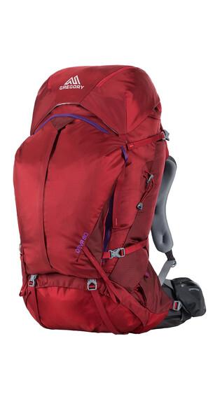 Gregory Deva 60 - Mochilas trekking y senderismo Mujer - M rojo